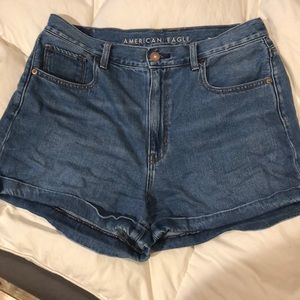 American Eagle MOM Denim Shorts